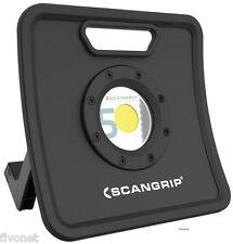 Scangrip Nova 5k cob LED emisor eh lámpara reflector colocado outdoor extremadamente Hell