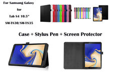 For Samsung Galaxy Tab S4 10.5 T830/T835 PU Leather Flip Cover Case