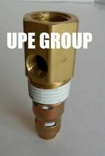 """New air compressor in tank check valve 3/8"""" Female NPT x 1/2"""" Male NPT"""