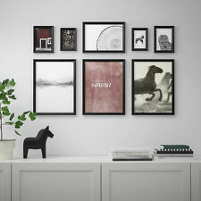 New IKEA KNOPPANG Frame with poster, set of 8, Nordic