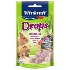 VITAKRAFT Small Animal WILD BERRY DROPS Rodent Rabbit Hamster Fruit Treats 75gm