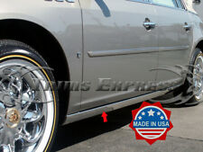 2006-2011 Cadillac DTS Chrome Rocker Panel Trim Extreme Lower Overlay 2Pc 3""