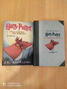 Harry Potter E La Camera dei Segreti edizione motto latino. Nuovo