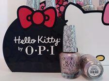 OPI Nail Polish Lacquer Hello Kitty - Color: Charmmy & Sugar - 0.5 fl oz - New