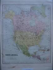 Grafiken & Drucke aus Nordamerika mit Landkarten-Motiv