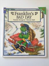 SIGNED Franklin's Bad Day By Paulette Bourgeois & Brenda Clark 1st Edition 1996