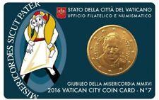 VATICAAN 2016: COINCARD NR. 7 MET 50 CENT
