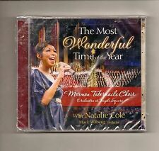 The Most Wonderful Time of the year with Natalie Cole = CD NEW