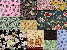 Floral Fat Quarter Blowout - 50/$39.99 - Free Ship! - Top Quality Fabric - quilt