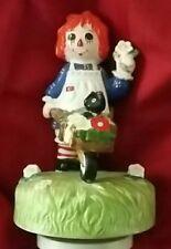 RAGGEDY ANN Schmid MUSIC BOX DANCER Bobbs-Merrill Co. 1979 VTG Collectibles