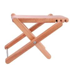 IRIN Wooden Foot Stool Footrest Rest with Carrying Bag for Guitar Parts Durable