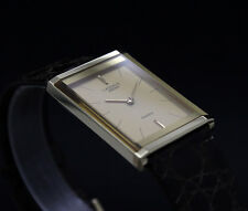 New Old Stock Men SEIKO LASSALE beveled cryst vintage Quartz watch NOS 8420-6769