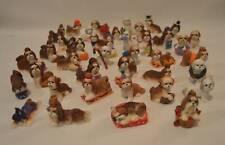 Danbury Mint 40 Shih Tzu Dog Miniature Figurines With Box