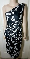 NEW DIVINE 'Charlie Brown' One Shoulder Dress Size 12 - Formal Elegant