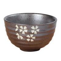 Japanese Style Bowl Dessert Pottery Tea Ceremony Accessory : Cherry Blossom