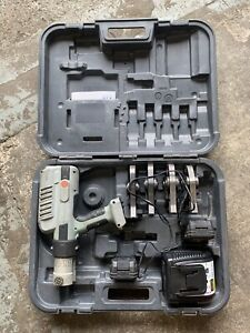 Viega Pressgun 5 With 4 Jaws Charger 2 Batteries And Case