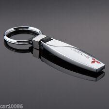 New Fashion Metal Alloy key chain Key Ring pendant Key Holder For Mitsubishi