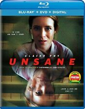 Unsane (Claire Foy  Joshua Leonard  Sarah Stiles) New Blu-ray + DVD + Digital RB