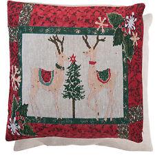 clayre & eef Funda de cojín Merry Christmas CASA CAMPO Nostalgia 40 40cm