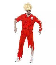 Zombie Sports Teacher Costume SIZE  Small =