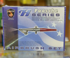 Paasche H-Set Airbrush Set (Single Action External Mix Siphon Feed)