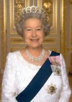Queen Elizabeth ll CANVAS WALL ART PICTURE 20X30 INCHES