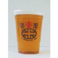 Gb Pk25 Grande Bretagne PLASTIQUE Chopes à Bière Mariage Royal Sports Vaisselle