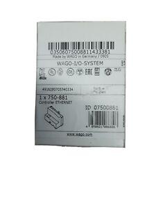WAGO IO System 750-881 Feldbuscontroller Ethernet /