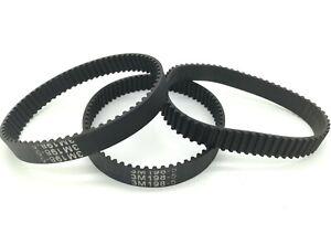 HTD 3M Timing belt Endless 198/201/204mm Length 6/9mm Width