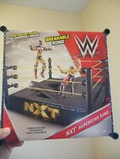 Ring Wwe Superstar Nxt Breakable Wrestling Mattel Pro Tension Rope Smackdown Toy