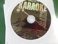 Karaoke Hits Vol 23 ( Oldies , classic rock and Pop )