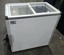 Mmi Xs-160Yx 2 Door Slide Top Freezer Or Cooler Reachin Merchandiser Dual Temp