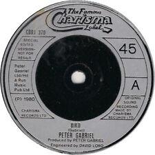 Peter Gabriel, Biko, NEW/MINT UK PROMO 7 inch vinyl single (Solid Center)