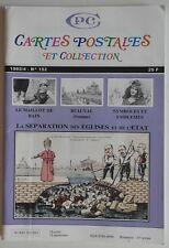 CPC Cartes Postales et Collection n°152- Séparation Eglise et Etat Symboles