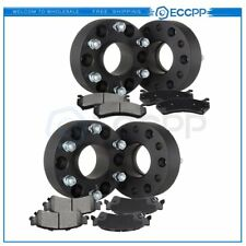 ECCPP 4Pcs Wheel Spacers 4pcs Front and Front Disc Brake Pads For GMC Yukon