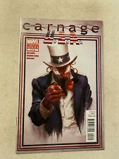 CARNAGE USA #2 NM 9.4 1ST APPEARANCE OF THE MERCURY TEAM CLAYTON CRAIN  COVER