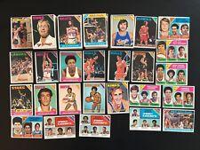 1975-76 Topps Basketball Lot - 205 Card Lot/Stars - High Quality NM