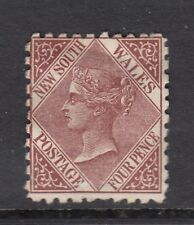 New South Wales 1871 QV 4d red-brown (perf 10)  SG 214a - mounted mint