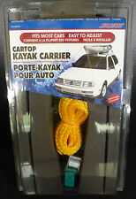 New SeaSense Kayak Carrier Kit Fits Most Cars 8260