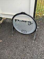 """More details for free p&p. 20"""" arbiter flats lite bass drum. great for busking. bd108198"""