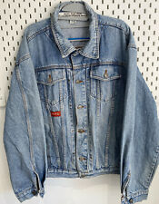 Vintage Diesel Mens Distressed Medium Blue Denim Jacket 👍