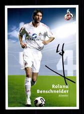 Roland Benschneider Autogrammkarte 1.FC Köln 2005-06 Original Signiert +A25606