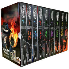 Skulduggery Pleasant 9 Books Collection Set By Derek Landy Mortal Coil Dark Days