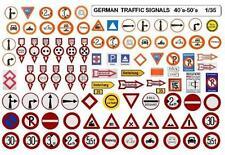 GERMAN TRAFFIC SIGNALS  WWII  SECOND WORLD WAR  40´s-50´s  1/35