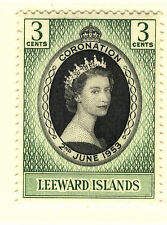 Mint Never Hinged/MNH Royalty Leeward Islands Stamps