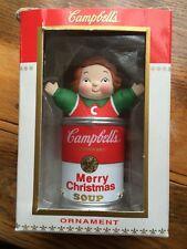 1998 Campbell's Kids Christmas Ornament Kurt S Adler w/BOX