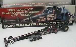 "Prestige 2004 ""Big Daddy"" Don Garlits Matco 1:16 Scale Top Fuel Dragster - READ"