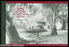 Australia Scott#2177a Murray River Complete Unexploded Prestige Booklet Mint Nh