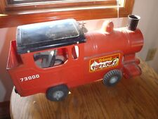 RARE VINTAGE TRI-ANG PUFF-PUFF 73000 TIN TOY TRAIN LOCOMOTIVE TOY,ANTIQUE