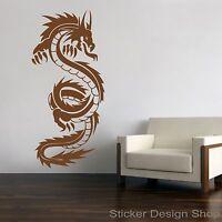 Drache Dragon Wandtattoo Wandsticker Aufkleber Sticker Wandaufkleber Tattoo Neu